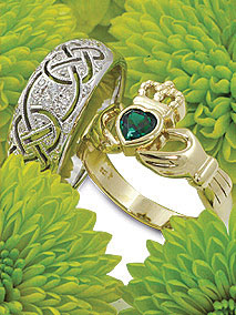 Celtic Dress and Claddagh