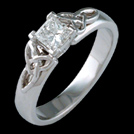 S1775 Trinity White Gold and Diamond Engagement Ring